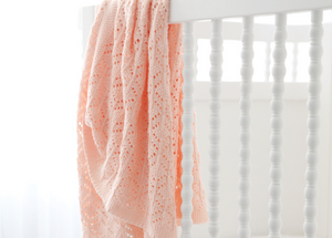 Heirloom Blanket // Pink