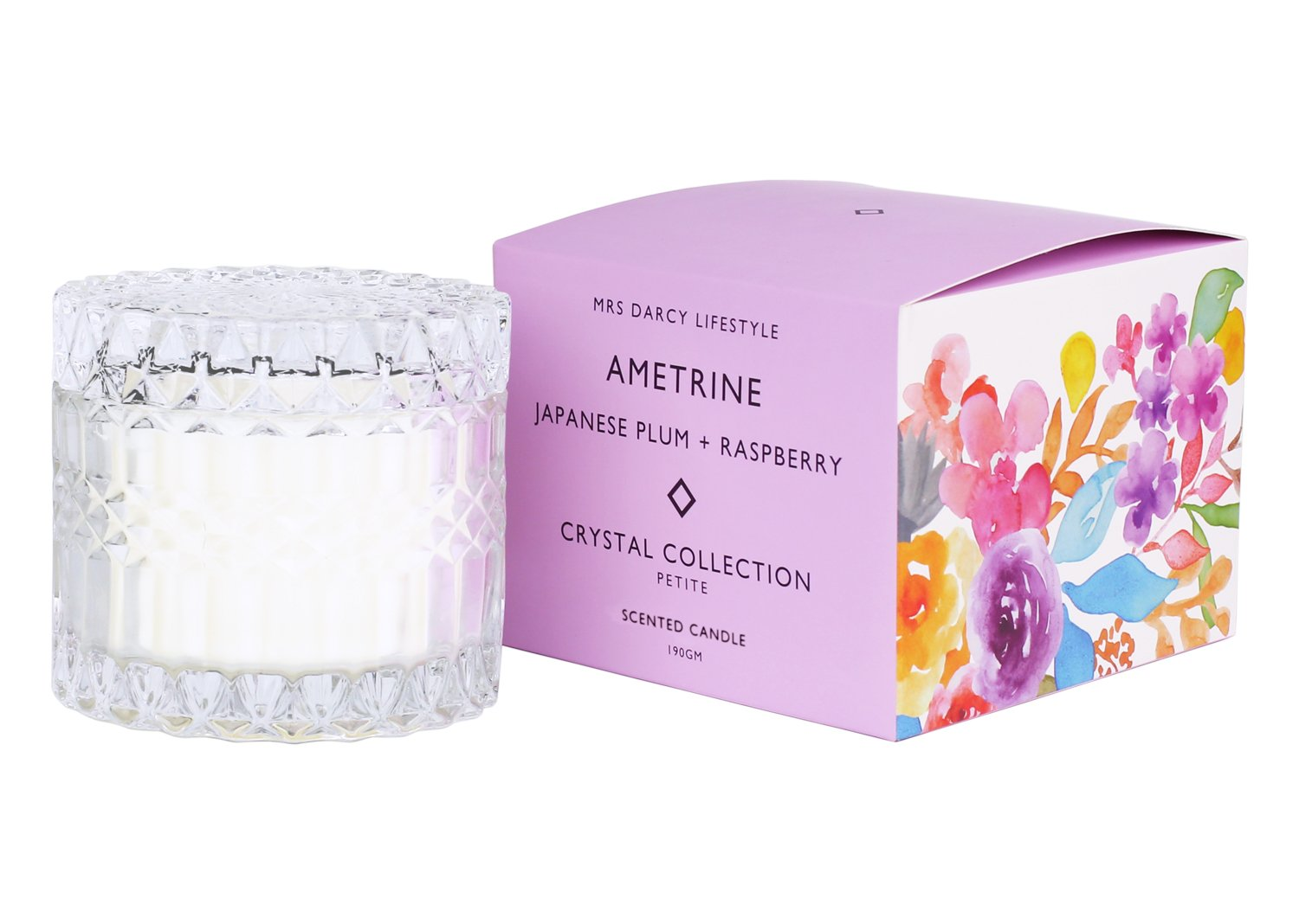 Crystal Candle Collection || Ametrine Petite