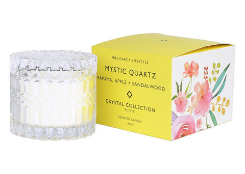 Crystal Candle Collection || Mystic Quartz Petite