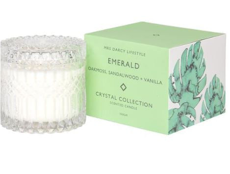 Crystal Candle Series || Emerald