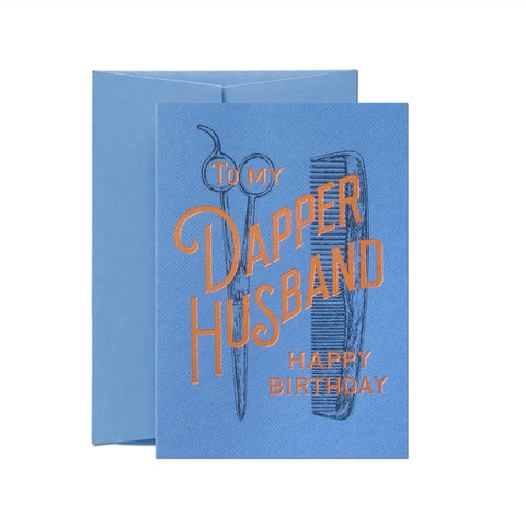 Dapper Husband Card