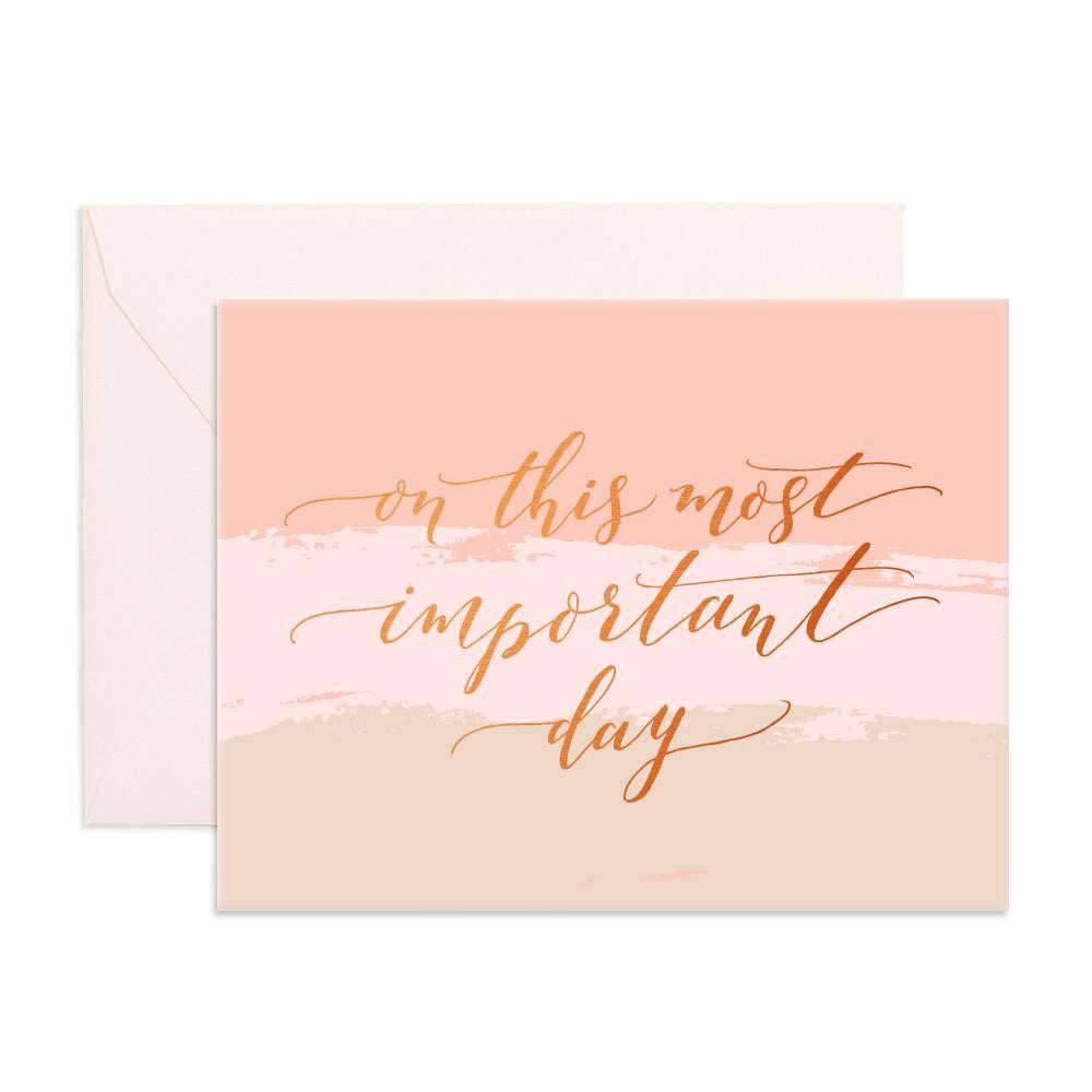Important Day Greeting Card
