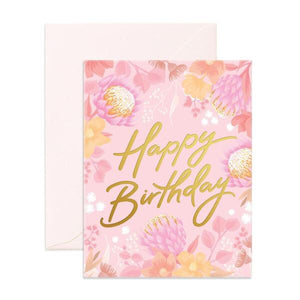 Birthday Floribunda Card