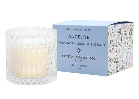 Candle Crystal Petite Angelite