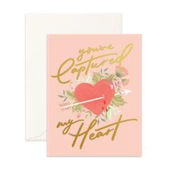 You've Captured My Heart Card