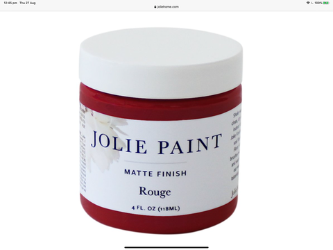 Jolie Rouge Sample pot