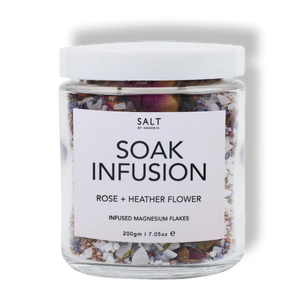 Soak Infusion Rose + Heather Flower