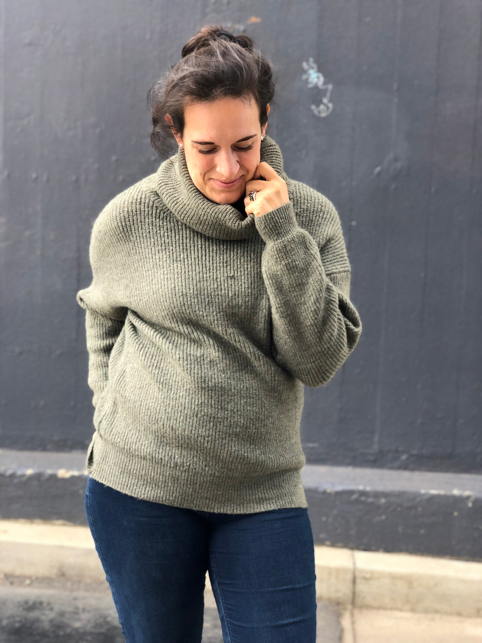 Lucy Knit Green