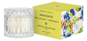 Crystal Candle Collection || Amazonite Petite