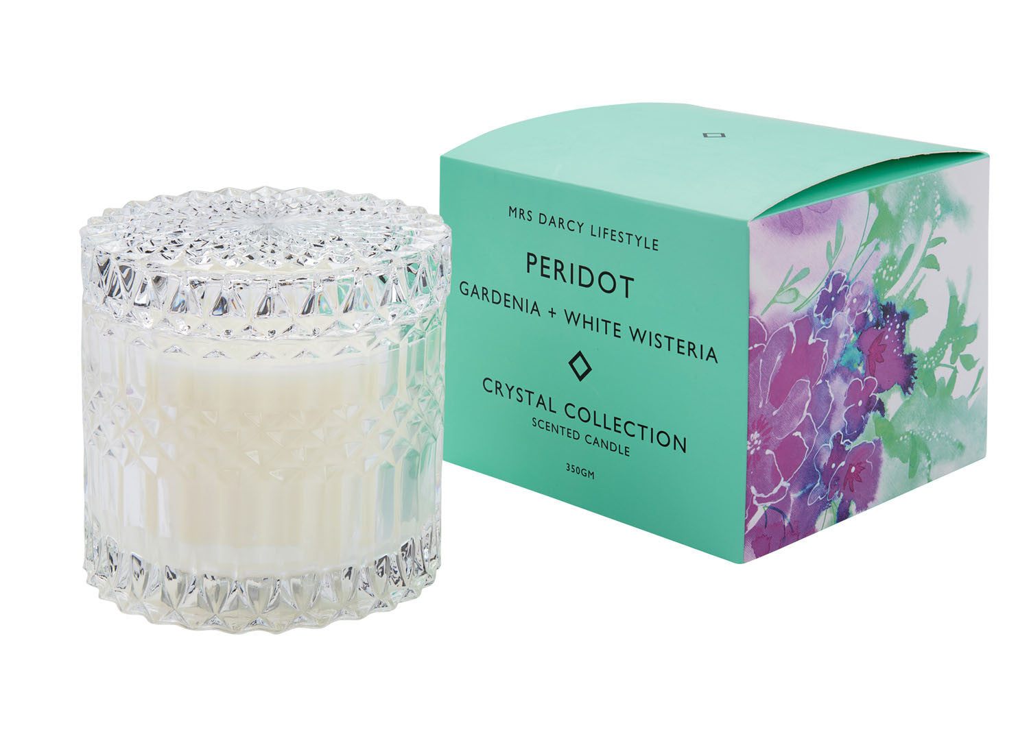 Crystal Candle Series || Peridot