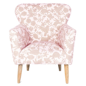 Animalitos Occasion Chair // Pale Pink