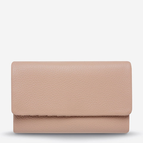 Audrey Wallet Pebble Blush Pink