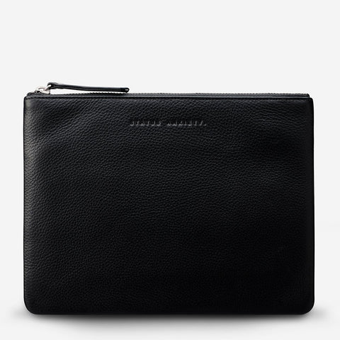 Fake It Clutch Black
