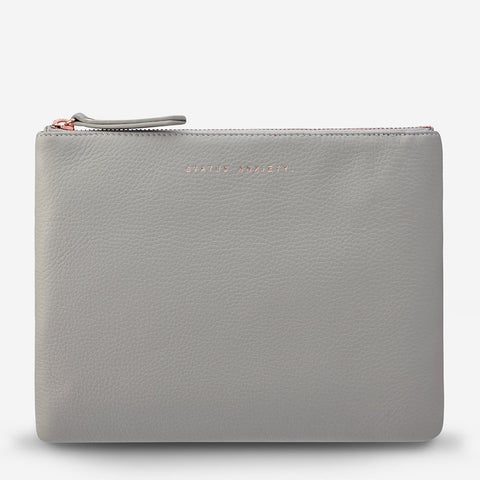 Fake It Clutch Grey