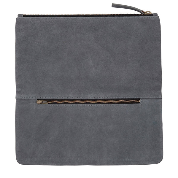 Feel The Night Clutch // Slate