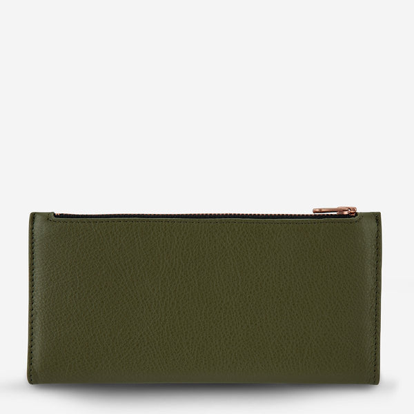 In The Beginning Wallet // Khaki