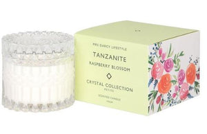 Crystal Candle Collection || Tanzanite Petite