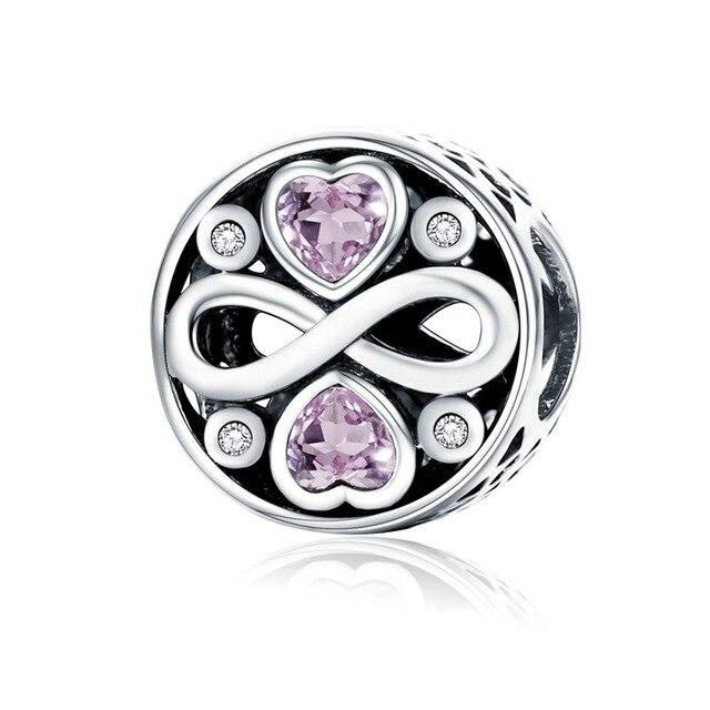 Real Sterling Silver Charm Beads Fit Original Bracelet - Glow Gravity