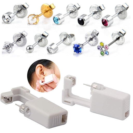 Sterile Ear Piercing Unit Cartilage Tragus Helix Piercing Gun - Glow Gravity