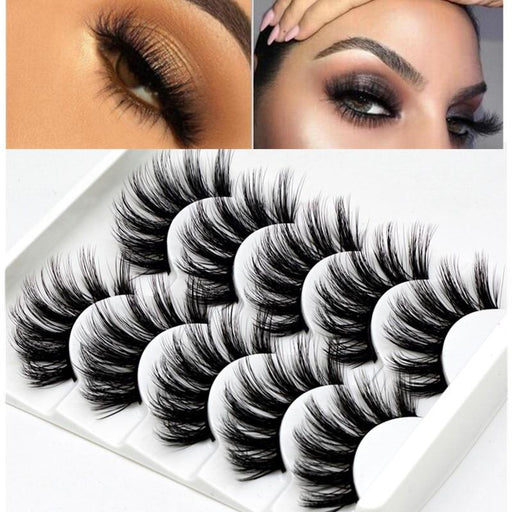 Mink lashes natural eyelashes extended beauty makeup eyelashes - Glow Gravity