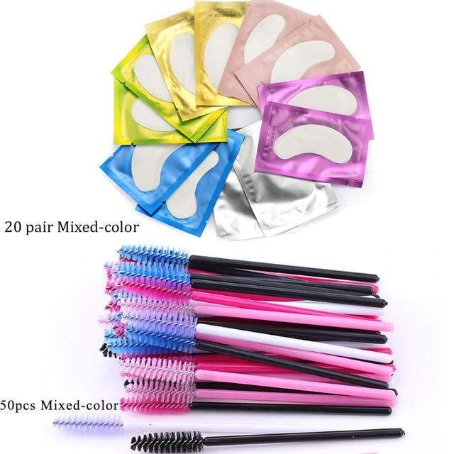 Eyelash Extension Disposable Eyebrow brush Mascara Wand Applicator - Glow Gravity