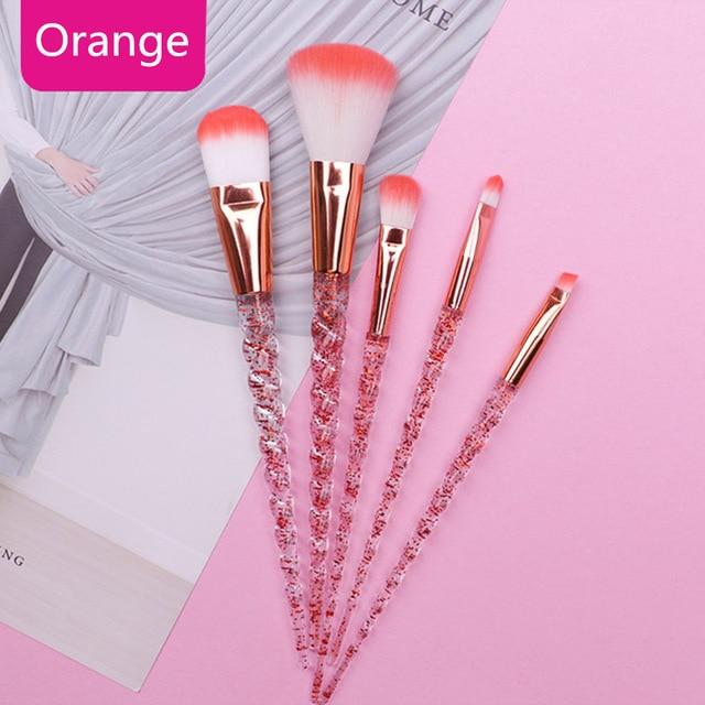 Unicorn Makeup Brushes Sets Maquiagem Foundation Powder - Glow Gravity