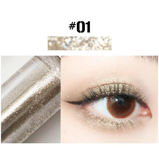 Diamond Eye Shadow Metal Shimmer Glow Glitter Single Liquid Eyeshadow Makeup - Glow Gravity