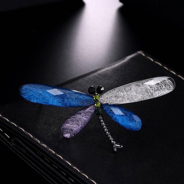 Fashion Dragonfly Brooches For Women Vintage Dragonfly Brooch Pin For Men - Glow Gravity