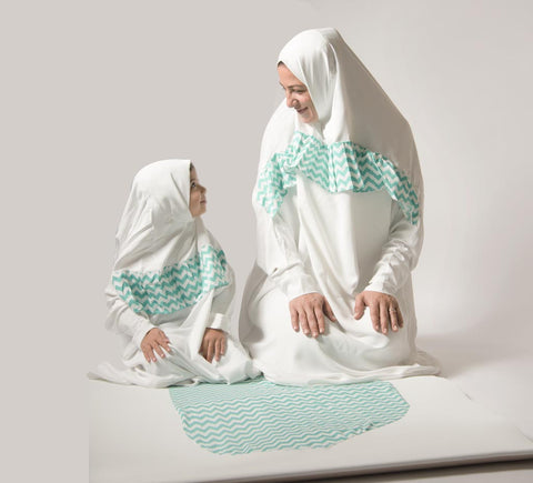 Mommy and Me Prayer Gowns
