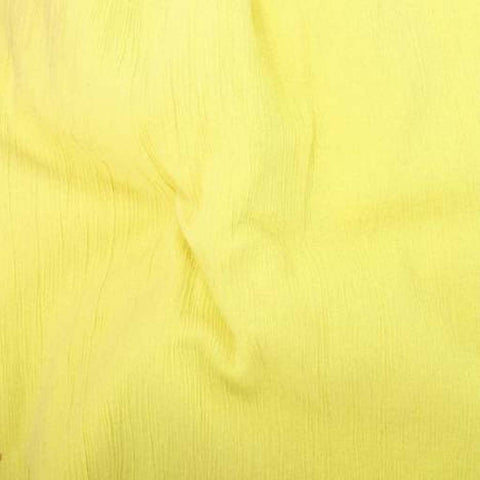 Crinkle Voile - Yellow