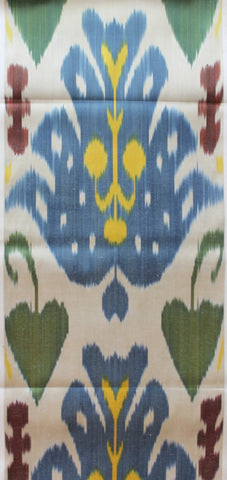 Ikat Multi Teawash full repeat