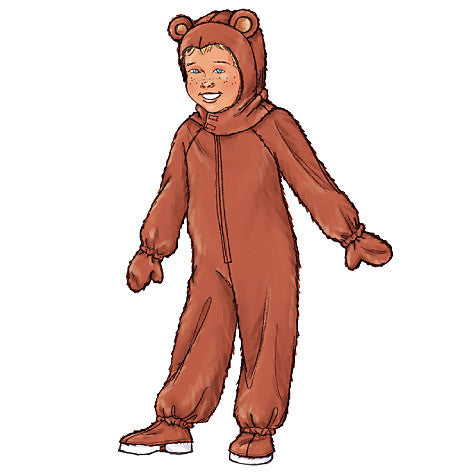 Childrens' Animal Costumes Sewing Pattern