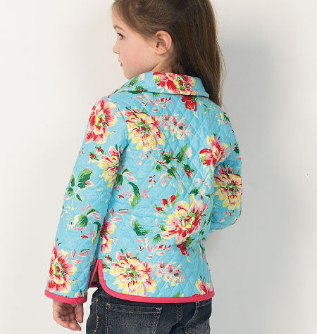 Girls' lined jacket