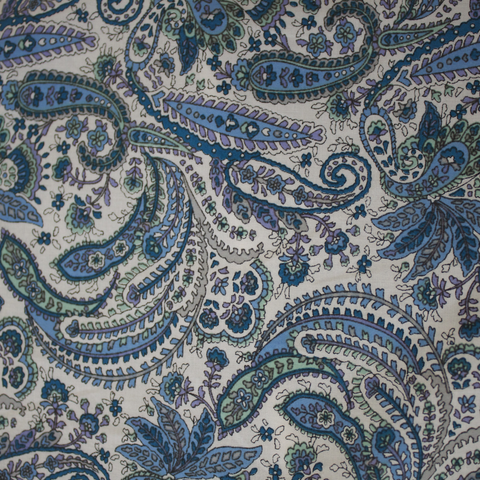 Paisley Cotton Sateen