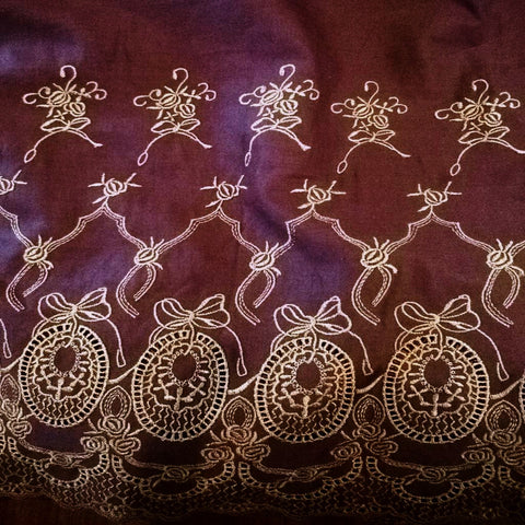 Tibah Embroidered Cotton