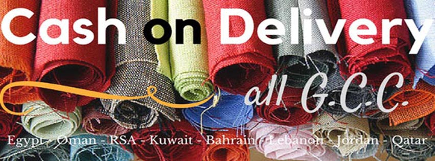 Now with Cash on Delivery to all GCC countries