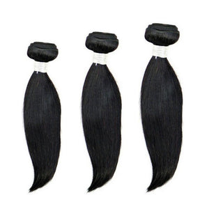 Malaysian Silky Straight Bundle Deals - MaleahMoura Beauty Supply