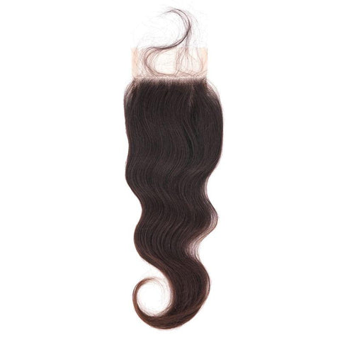 Raw Indian Wavy Closure - MaleahMoura Beauty Supply