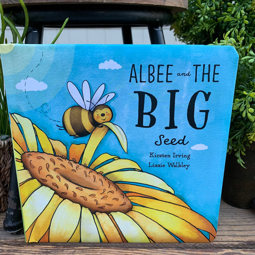 Albee & The Big Seed Jellycat Book - Apothecary Gift Shop