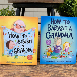 How To Babysit A Grandma/Grandpa Book - Apothecary Gift Shop