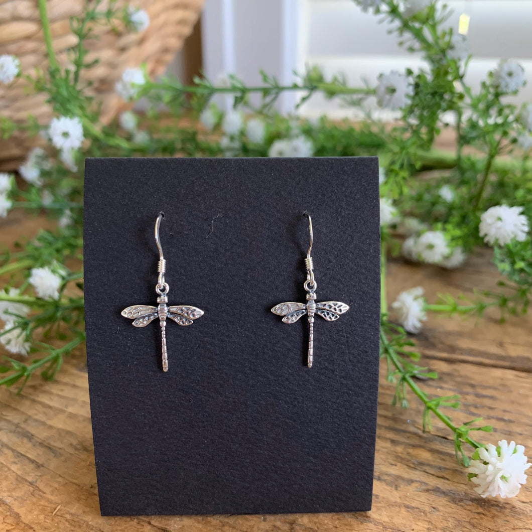 Dragonfly Earrings - Apothecary Gift Shop