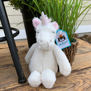 Bashful Unicorn Jellycat Stuffed Animal - Apothecary Gift Shop