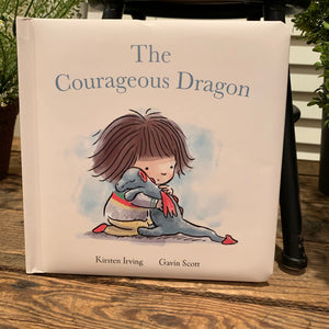 The Courageous Dragon Jellycat Book - Apothecary Gift Shop