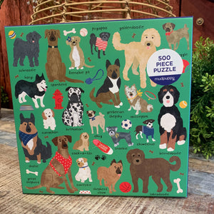 Mixed Breeds Dog Puzzle - Apothecary Gift Shop