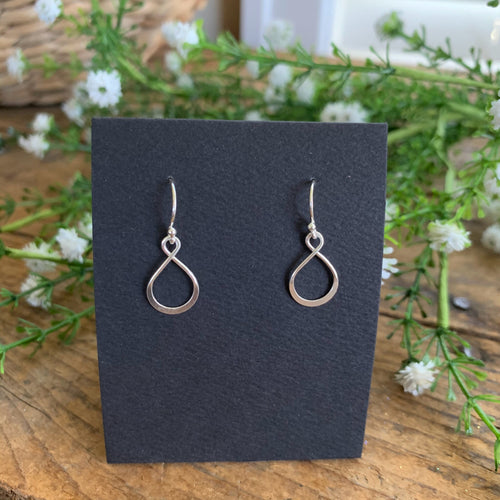 Mini Infinity Earrings - Apothecary Gift Shop