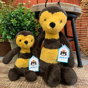 Bashful Bee Jellycat Stuffed Animal - Apothecary Gift Shop