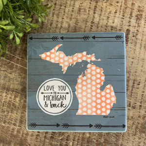 Michigan Coasters - Apothecary Gift Shop