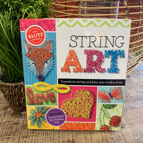 String Art Kit by Klutz - Apothecary Gift Shop