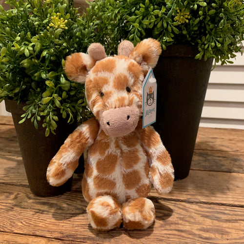 Bashful Giraffe Jellycat Stuffed Animal - Apothecary Gift Shop