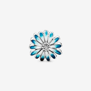 Blue Daisy Flower Pandora Charm - Apothecary Gift Shop